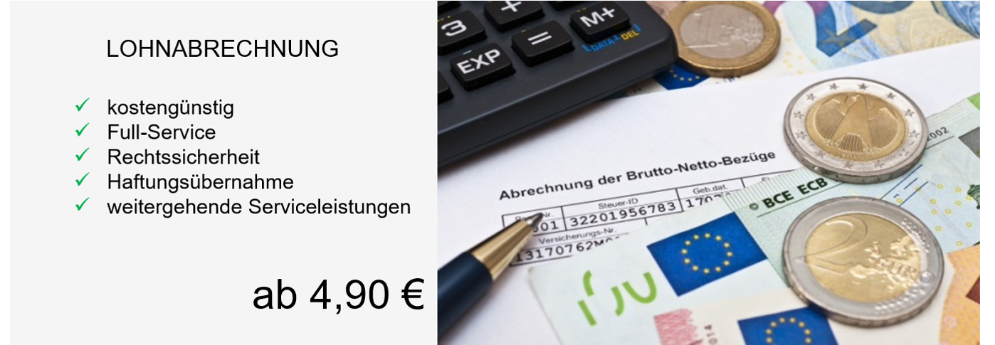 Lohnabrechnung - Gehaltsabrechnung